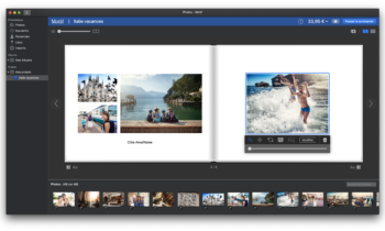 L'appli Motif 2.0 enrichit l'application Photos native d'Apple de l'impression photo, ainsi que d'une assistance multilingue et de la conversion des projets photo Apple